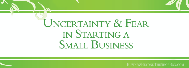 Uncertainty and Fear in Starting a Small Business