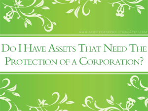 small business corporation for asset protection