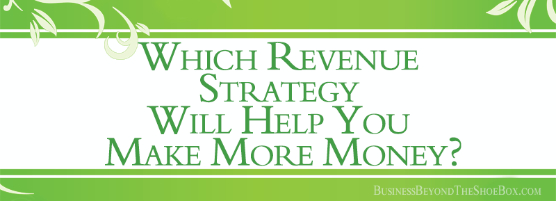 Which Business Revenue Strategy Will Help You Make More Money?