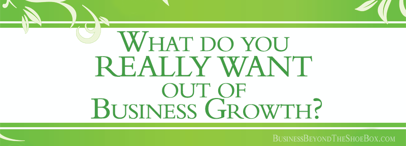 What do you REALLY WANT out of Business Growth?