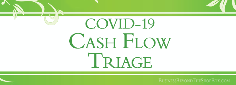 COVID-19 Cash Flow Triage