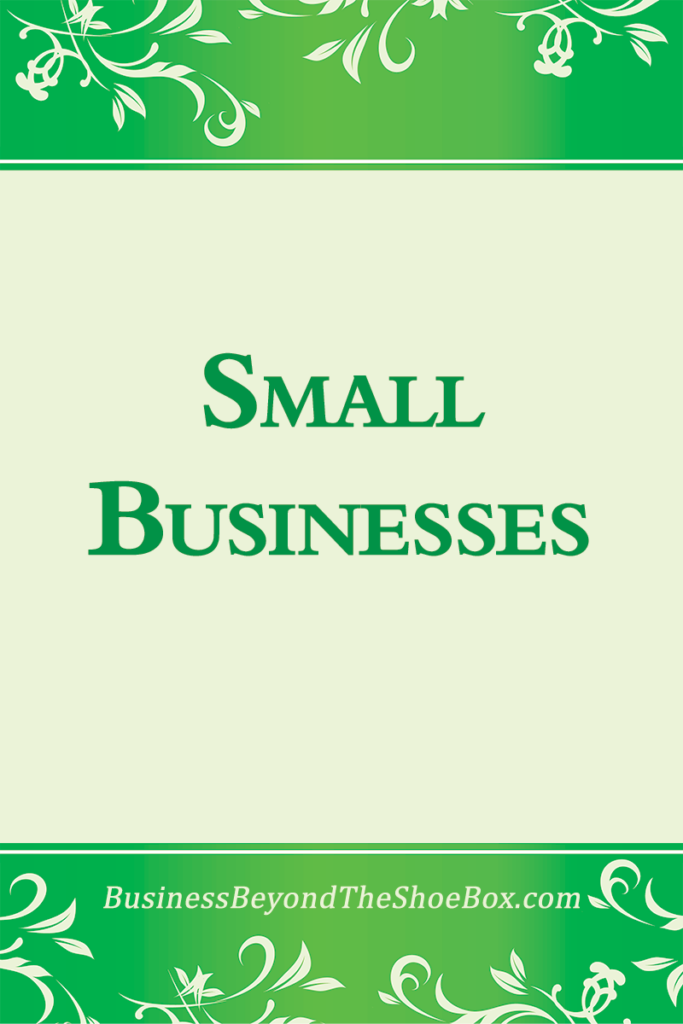 Small Businesses 1